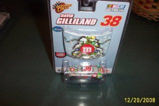 David Gilliland #38 MMs M&Ms Ford Fusion Sam Bass Collection 2007 Edition 1/64 Car & 1/24 Hood Winners Circle Toys & Games