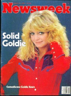NEWSWEEK Goldie Hawn 1/12 1981 Entertainment Collectibles