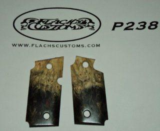 Sig Sauer P238 P938 Pistol Grips Wood  Gun Grips  Sports & Outdoors