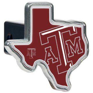 NCAA Texas A&M Aggies Texas Shaped Trailer Hitch Cover  Sports Fan Trailer Hitch Covers  Sports & Outdoors