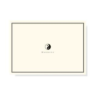 Yin Yang Note Cards (Stationery, Boxed Cards): Peter Pauper Press: 9781441306302: Books