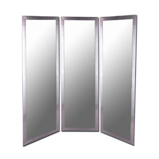 Royal Stainless Silver Decorative Wall Mirror   Wall Mounted Mirrors