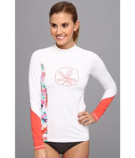 Carve Designs Sunblocker Rash Guard Womens Swimwear (White)