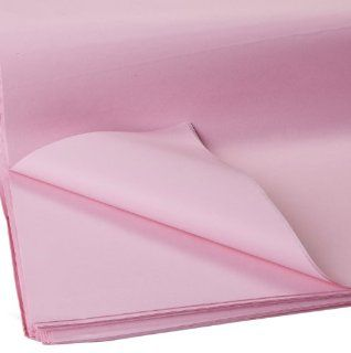 Jillson Roberts Bulk 20 x 30 Inches Recycled Tissue, Pastel Pink, 960 Unfolded Sheets (BFT02)  Gift Wrap Tissue