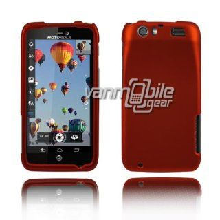 VMG 2 ITEM COMBO For Motorola Atrix HD Hard Case Cover   ORANGE Hard Matte Feel 2 Pc Plastic Snap On Case Cover + LCD Clear Screen Protector for Motorola Atrix HD Cell Phone Only [by VANMOBILEGEAR]: Cell Phones & Accessories