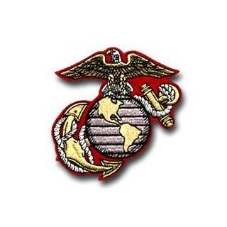 "MARINE CORPS EAGLE, GLOBE & ANCHOR BASIC 3"" PATCH: Automotive"