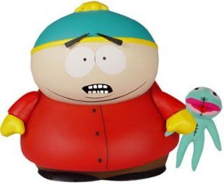 Mezco Toyz South Park Deluxe Action Figure 11 Inch Cartman w/ Clyde Frog Plush Toys & Games