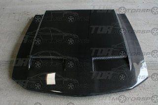 Seibon Carbon Fiber CD Style Hood Ford Mustang 05 08: Automotive
