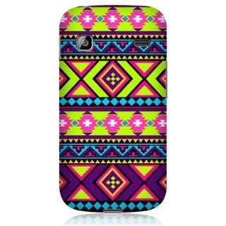 Head Case Designs Hip Neon Aztec Hard Back Case Cover for Samsung Galaxy Gio S5660: Cell Phones & Accessories