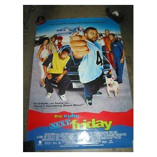 NEXT FRIDAY / ORIGINAL U.S. ONE SHEET MOVIE POSTER (ICE CUBE & MIKE EPPS) ICE CUBE & MIKE EPPS Entertainment Collectibles
