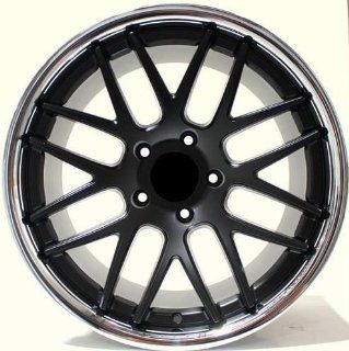 "19"" Roderick RW6 Wheels Set For Porsche C4S Wide Body 997 Turbo 987 Cayman Rims Set of 4 Rims: Automotive"