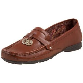 Etienne Aigner Women's Wren Slip On,Cognac Calf,7 N US Shoes