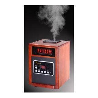 Dr Infrared Heater DR998, 1500W, Advanced Dual Heating System with Humidifier and Oscillation Fan and Remote Control   Electric Heaters