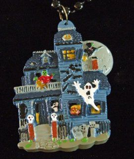 Haunted House Halloween Mardi Gras Bead Necklace Spring Break Cajun Carnival Festival New Orleans Beads: Everything Else
