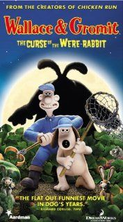 Wallace & Gromit Curse of the Were Rabbit [VHS]: Peter Sallis, Helena Bonham Carter, Ralph Fiennes, Peter Kay, Nicholas Smith, Liz Smith, John Thomson, Mark Gatiss, Vincent Ebrahim, Geraldine McEwan, Edward Kelsey, Dicken Ashworth, Nick Park, Steve Box