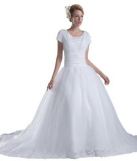 herafa Wedding Dress Elegant NO.w35209 at  Women�s Clothing store