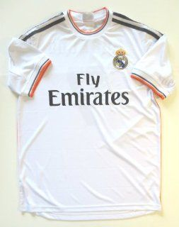 REAL MADRID HOME SOCCER JERSEY SIZE ADULT SMALL .NEW : Sports & Outdoors