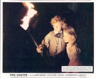 TOM SAWYER JODIE FOSTER JOHNNY WHITAKER LOBBY CARD   Prints