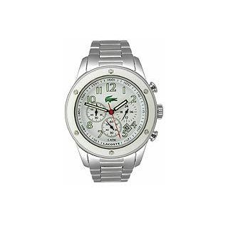 Women's Advantage   Stainless Steel Chronograph: Sans Coloris (One Size): Lacoste: Clothing