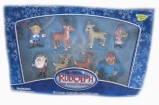Misfit Island Rudolph Red Nosed Reindeer Holiday Clip On Collection Toys & Games