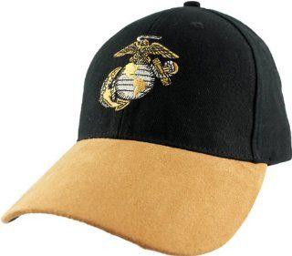 US Marine Corps EGA Suede Bill Ball Cap Automotive