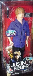 "Justin Bieber JB Award Style Collection 4pc doll ""Purple Shirt"": Toys & Games"