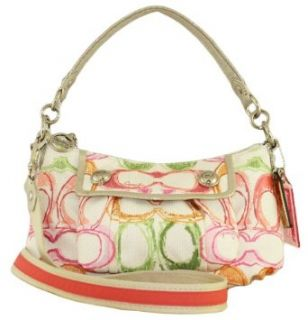 Coach Signature Poppy Dream Groovy Shoulder Bag Purse Tote 15598 Multi Clothing
