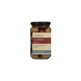 La Medina Cocktail Olive Mix (Economy Case Pack) 7.7 Oz (Pack of 12) : Bread And Butter Pickles : Grocery & Gourmet Food