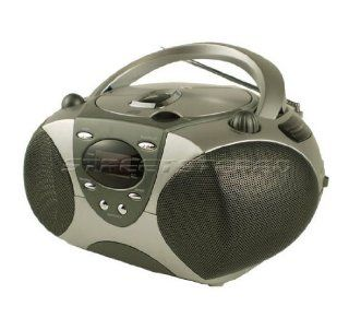 DURABRAND CD 1095   (Silver) Compact Disc Player Am/Fm Radio Reciever  Boomboxes   Players & Accessories