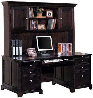 Solid Wood Credenza with Hutch FJA172 : Office Credenzas : Office Products