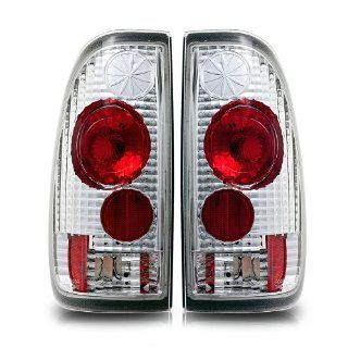 97 03 Ford F 150 State Side Altezza Tail Lights Chrome Housing / Clear Lens Pair Automotive