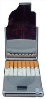 All In One Cigarette Case With cigarette Lighter (For King Size Only) (Holds approximately 6 Cigarettes) (Assorted) #57