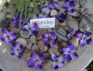 "Tanday (Purple) 2"" Loose Hydrangea Flowers 1 Bunch approximately 35 petals  Artificial Flowers"