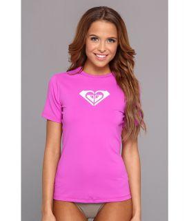 Roxy Basically Roxy S/S Surf Shirt Womens Swimwear (Purple)