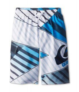 Quiksilver Kids Xiting Volley Boardshort Boys Swimwear (White)