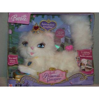 Barbie as The Princess and The Pauper  Interactive Serafina Plush Doll with 10 minute Audio CD Toys & Games