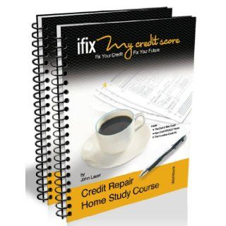"The ""ifix"" Credit Repair Home Study Course (Fix Your Credit   Fix Your Future) John Lauer, Rosemary Madsen, and the first place to start is with improving your credit using the ""ifix"" Credit Repair Home Study Course. Don't let a ch"