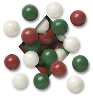 Koppers Candy Coatedl Malted Milk Balls Red, Green & White, 5 Pound ...
