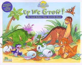 Up We Grow!: The Land Before Time Growth Chart: Mary Hogan: 9781577196242: Books