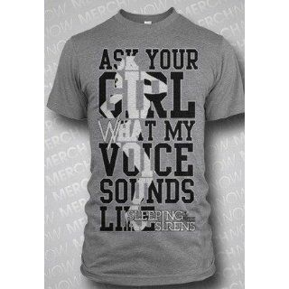 Sleeping With Sirens Ask Your Girl Slim Fit T Shirt Clothing