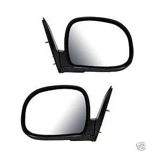 1996   1997 Isuzu Hombre Black Foldaway Manual Mirror (below eyeline) Set. Left Hand Drivers And Right Passengers Mirrors for 1996 1997 Isuzu Hombre Pair for LH and RH Outside Mirror fitting 96 97: Automotive