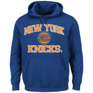 New York Knicks Heart & Soul Pullover Hoodie   Royal Blue