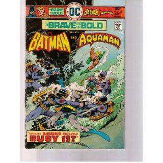 "The Brave and the Bold Batman & Aquaman No. 126 Apr. 1976 (""What Lurks Below Buoy 13?"", Vol. 22) Bob Haney, Jim Aparo & John Calnan Books"