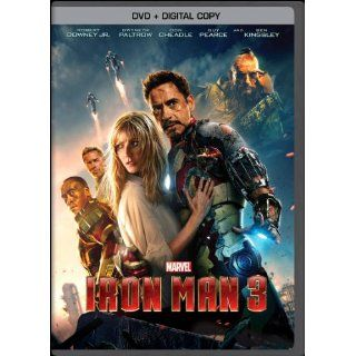 Iron Man 3 (DVD + Digital Copy): Robert Downey Jr., Gwyneth Paltrow, Don Cheadle, Guy Pearce, Rebecca Hall, Stephanie Szostak, James Badge Dale, Jon Favreau, Ben Kingsley, Shane Black: Movies & TV