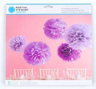 Martha Stewart Crafts Pom Poms, Purple   Purple Party Supplies