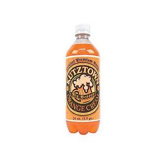 Kutztown Old Fashioned Orange Cream Soda, Bottle, 24 fl oz : Cream Soda Soft Drinks : Grocery & Gourmet Food