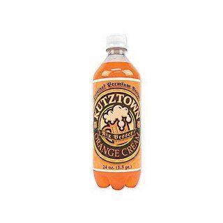 Kutztown Old Fashioned Orange Cream Soda, Bottle, 24 fl oz : Cream Soda Soft Drinks : Grocery & Gourmet Food