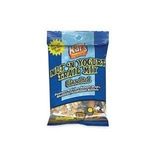 Advantus Corp. Products   Trail Mix, Yogurt Drop/Sunflower Kernels/Almonds, 2.25oz, 16/BX   Sold as 1 BX   Trail Mix is a delicious alternative for a healthy lifestyle. This tasty snack contains no cholesterol and is unsalted. Great snack if you want to cu