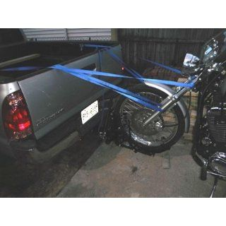 TMS 800 lbs Motorcycle Trailer Hitch Carrier Hauler Tow Towing Dolly Rack: Automotive