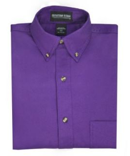 Purple Oxford Button Down Dress Shirt at  Men�s Clothing store